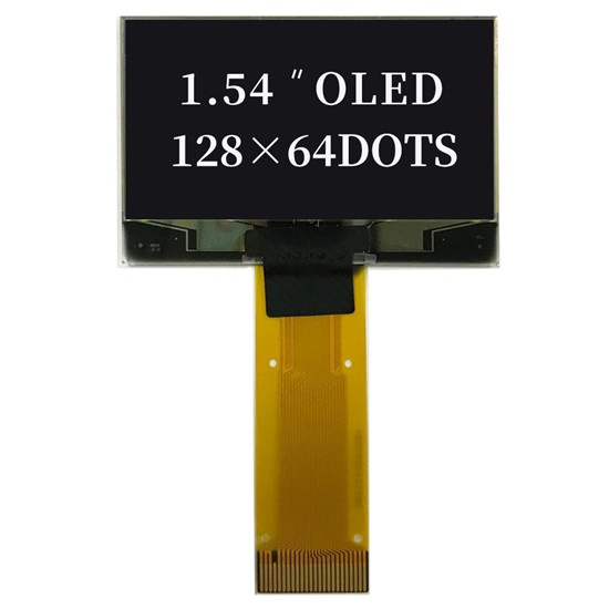 1.54 Inch 128x64 OLED With Yellow/Blue/white