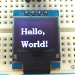 OLED graphic display manufacturers 64x48 pixels with pcb board