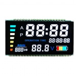 Digit 7 Segment LCD With Printed Color